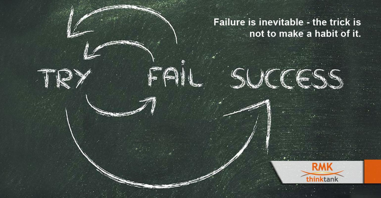 TRY --> FAIL --> SUCCESS