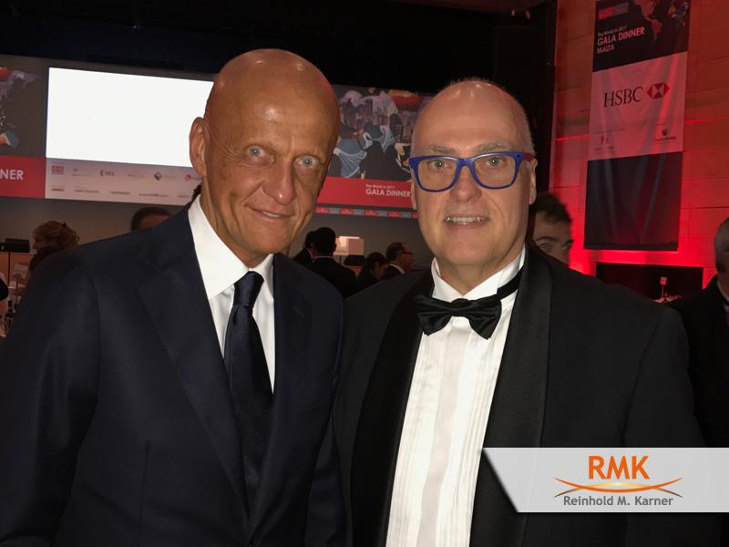 Economist - Gala Dinner; Pierluigi Collina