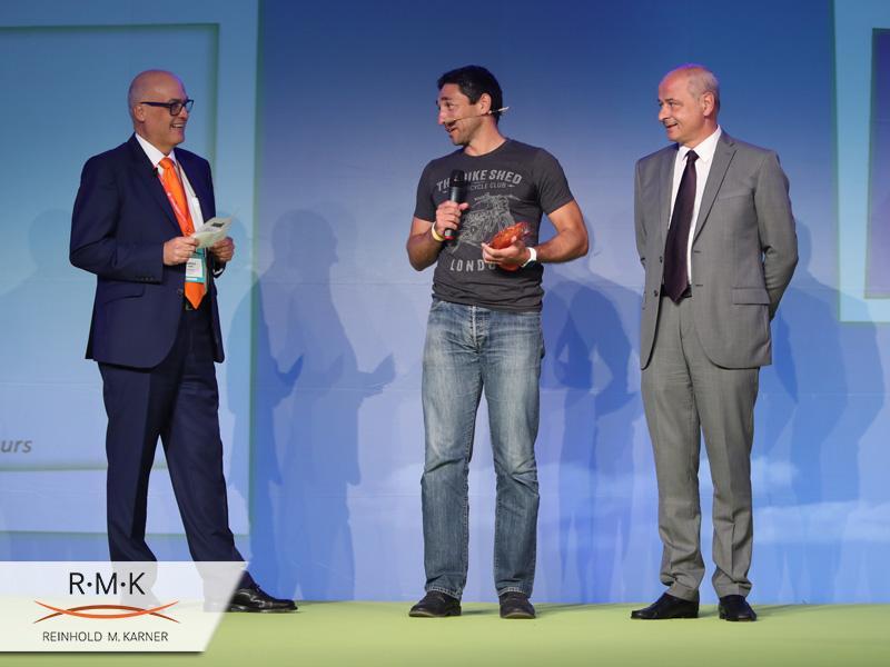 ZEST Start-Up Conference. Auszeichnungs-Zeremonie