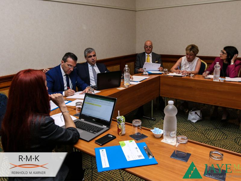 JAYE Malta Jury Meeting
